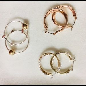 Hoop Earrings (3 pairs I would like to bundle)
